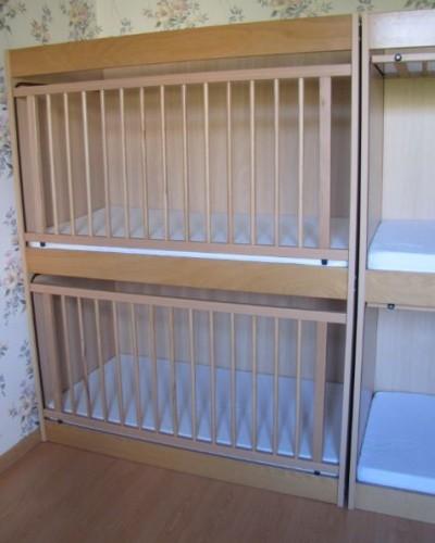 Lits barreaux pour jumeaux - Lit double pour bebe jumeaux ...