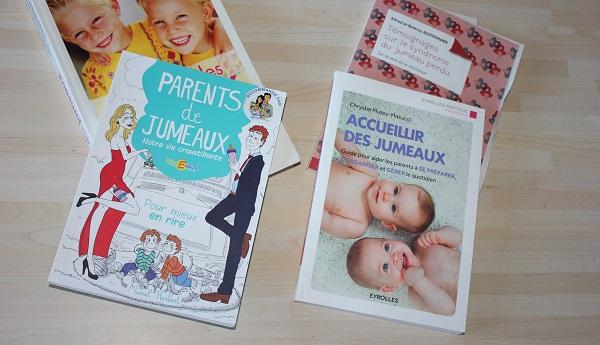 livres parents de jumeaux