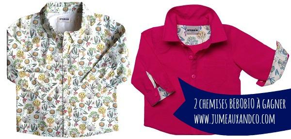 bébobio chemises
