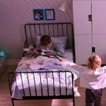 jumeaux et passage au grand lit. Black Bedroom Furniture Sets. Home Design Ideas