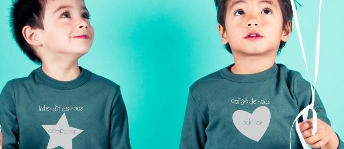 t-shirt jumeaux