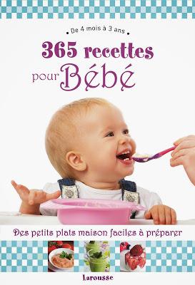 livre recettes bébés