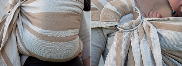 écharpe portage jumeaux