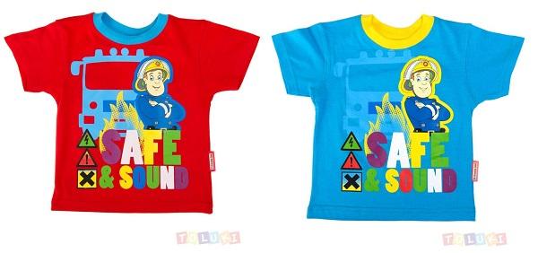 T-shirt Sam le pompier