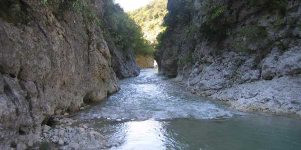 gorges de la Toulourenc enfants