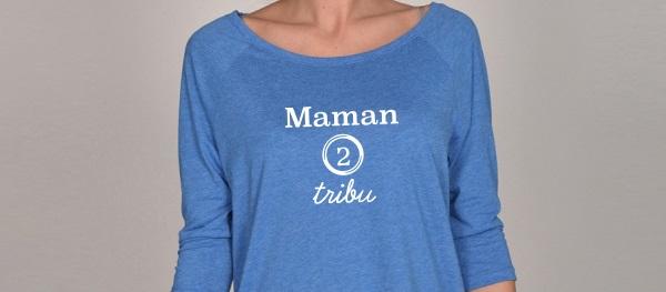 t-shirt Maman de tribu