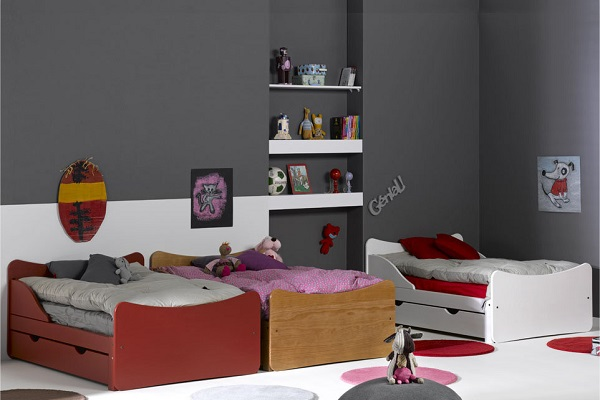 Astuce rangement chambre fille for Peindre sa chambre