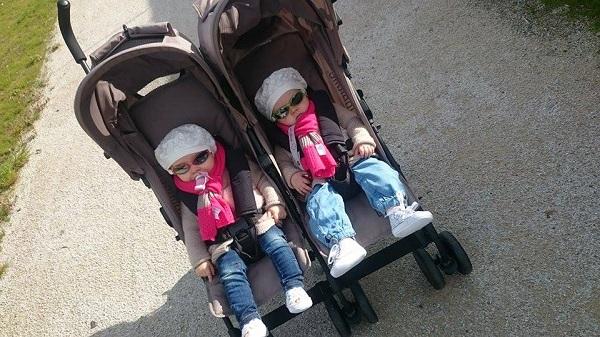 Libellule Kikoé poussette jumeaux