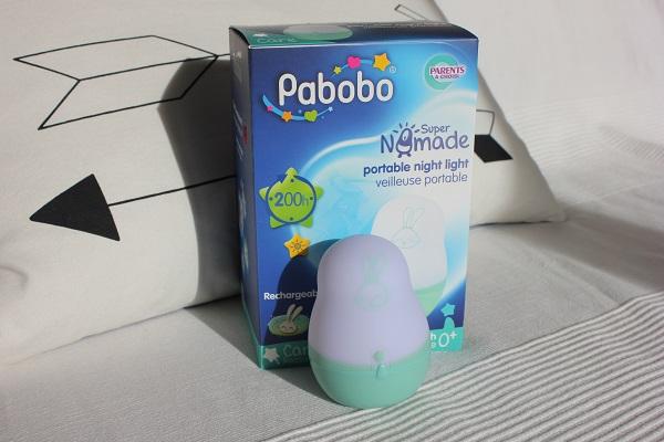 veilleuse Pabobo Super Nomade