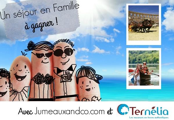 Séjour ternelia familles