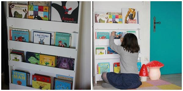 rangement livres enfants la biblioth que tidy books jumeaux co le site des parents de. Black Bedroom Furniture Sets. Home Design Ideas