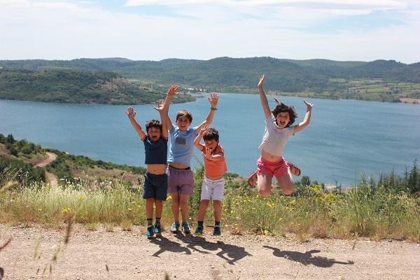 voyager en famille