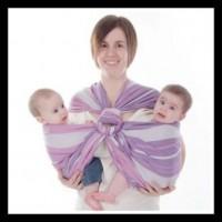 Porte-bébé double