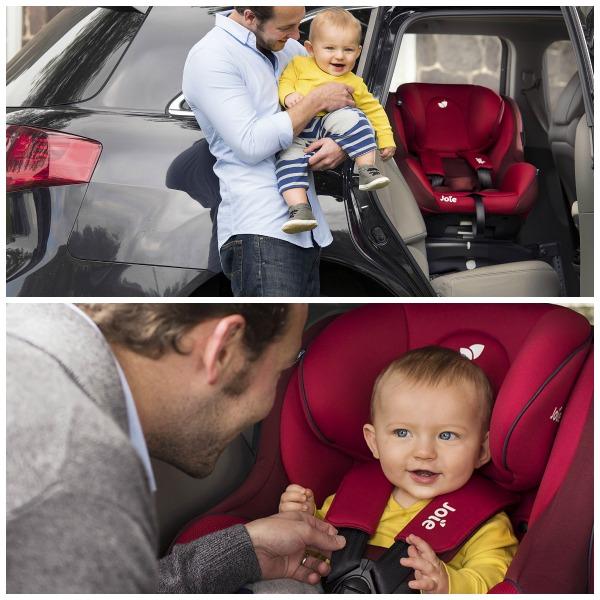 siège auto dos à la route pivotant Joie