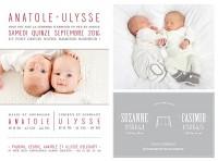 faire-part-naissance-jumeaux texte photos