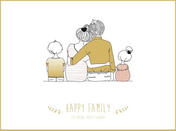 cadeau happy family affiche