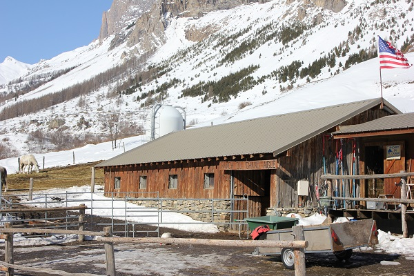 ski joering Serre chevalier