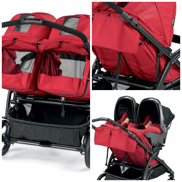 Poussette Book for two Peg Perego Image