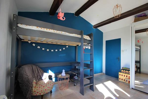 Astuce Deco Une Chambre De Grande Avec Lit Mezzanine