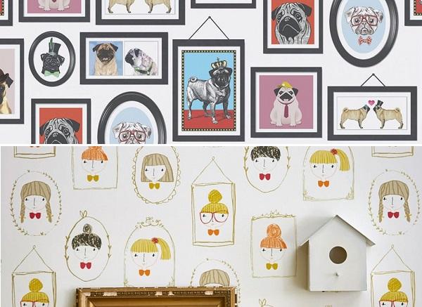 Papier peint chambre d\'enfant tendance 2020 |